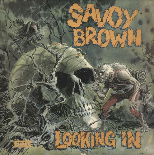 Savoy Brown Looking In - EX vinyl LP album (LP record) UK SVBLPLO564464