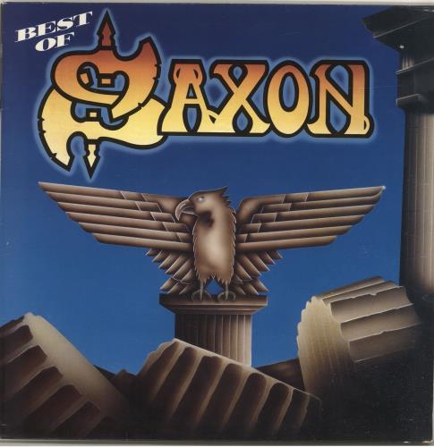 Saxon Best Of vinyl LP album (LP record) UK SAXLPBE177604