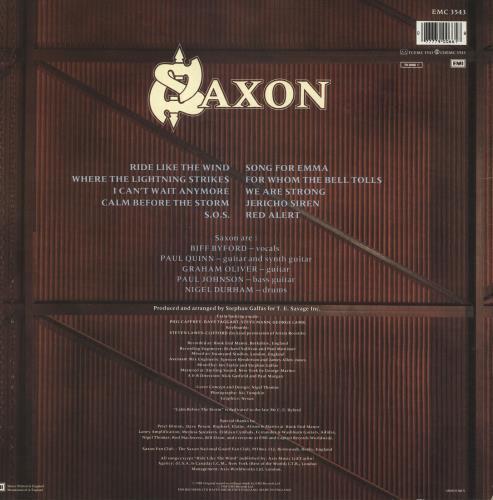 Saxon Destiny vinyl LP album (LP record) UK SAXLPDE245078