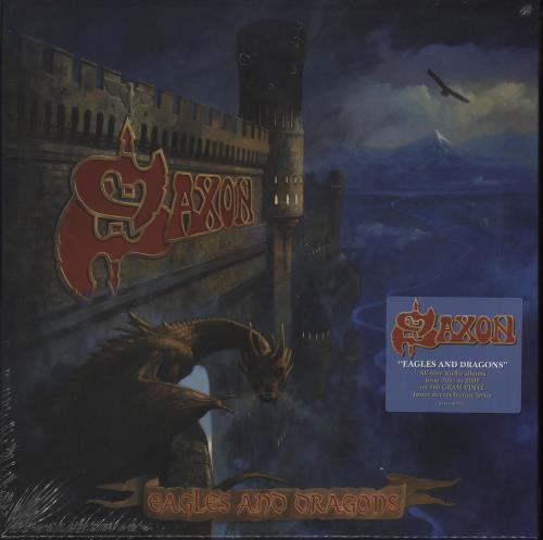 Saxon Eagles And Dragons - Sealed Vinyl Box Set UK SAXVXEA720938