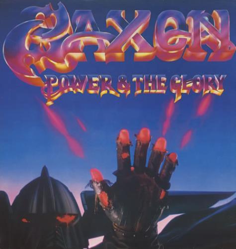 Saxon Power & The Glory vinyl LP album (LP record) UK SAXLPPO366041