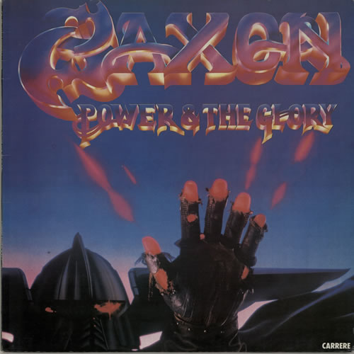 Saxon Power & The Glory vinyl LP album (LP record) French SAXLPPO574687