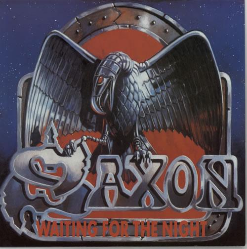 "Saxon Waiting For The Night 12"" vinyl single (12 inch record / Maxi-single) UK SAX12WA596389"