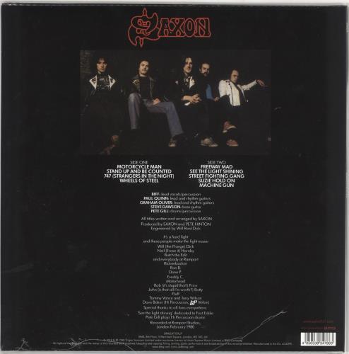 Saxon Wheels Of Steel - Black & White Swirl Vinyl - Sealed vinyl LP album (LP record) UK SAXLPWH720828