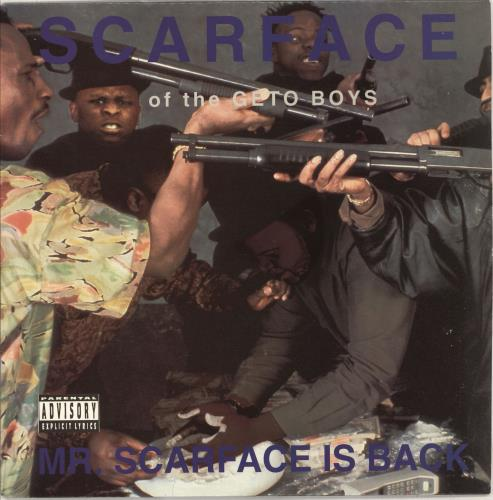 Scarface Mr Scarface Is Back vinyl LP album (LP record) US SCALPMR711728