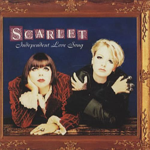 """Scarlet Independent Love Song CD single (CD5 / 5"""") UK S-TC5IN88360"""