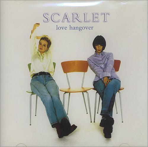 """Scarlet Love Hangover CD single (CD5 / 5"""") UK S-TC5LO156468"""
