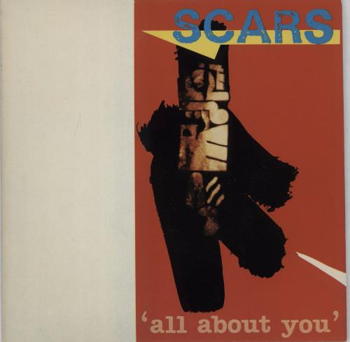 """Scars All About You 7"""" vinyl single (7 inch record) UK ARS07AL448168"""