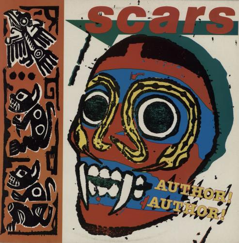 Scars Author! Author! vinyl LP album (LP record) UK ARSLPAU595264