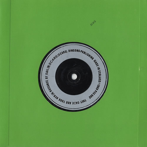 "Scars They Came And Took Her 7"" vinyl single (7 inch record) UK ARS07TH461421"