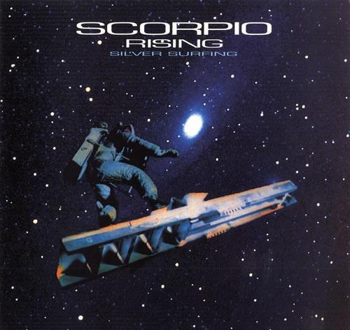 "Scorpio Rising Silver Surfing 12"" vinyl single (12 inch record / Maxi-single) UK SDJ12SI555046"