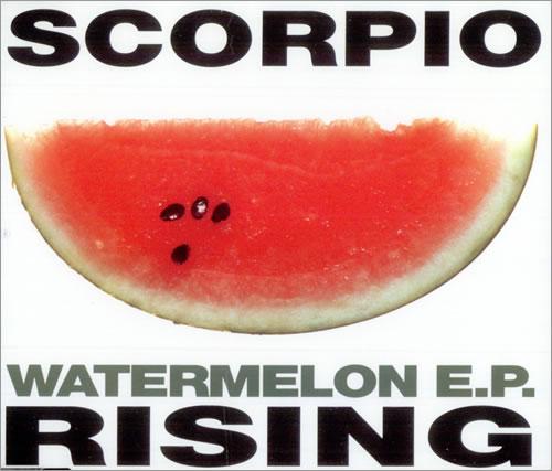 "Scorpio Rising Watermelon EP CD single (CD5 / 5"") UK SDJC5WA506391"