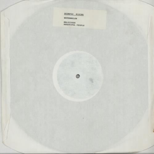"Scorpio Rising Watermelon EP 12"" vinyl single (12 inch record / Maxi-single) UK SDJ12WA606870"