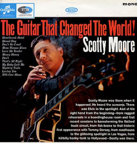 Scotty Moore The Guitar That Changed The World! vinyl LP album (LP record) UK SM5LPTH287074