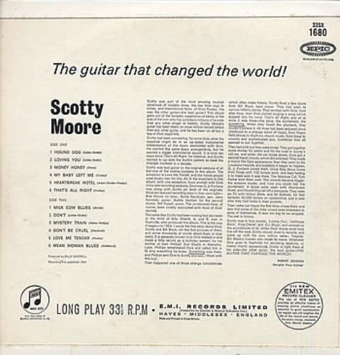 Scotty Moore The Guitar That Changed The World! vinyl LP album (LP record) UK SM5LPTH287074