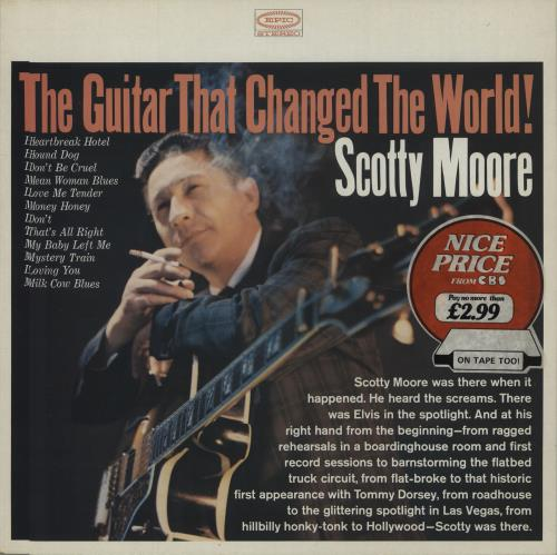 Scotty Moore The Guitar That Changed The World! vinyl LP album (LP record) UK SM5LPTH384831