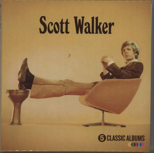 Scott Walker 5 Classic Albums CD Album Box Set UK SWLDXCL660174