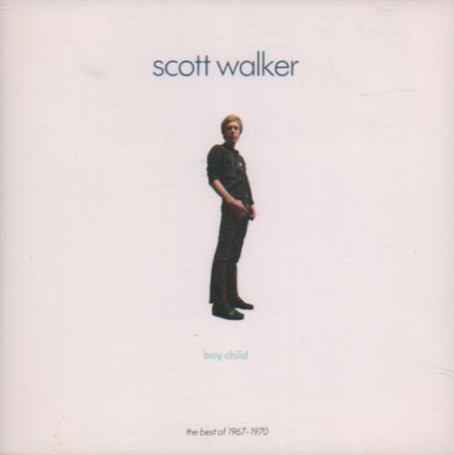Scott Walker Boy Child - The Best Of 1967-1970 CD album (CDLP) UK SWLCDBO659320