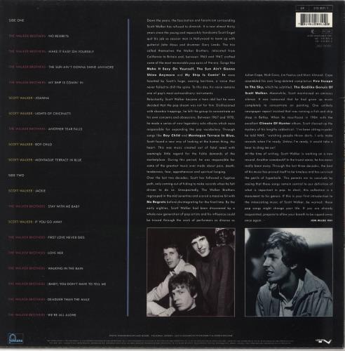Scott Walker No Regrets - The Best Of - EX vinyl LP album (LP record) UK SWLLPNO721976