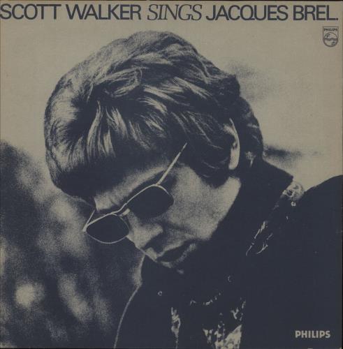 Scott Walker Scott Walker Sings Jacques Brel - gold stamp vinyl LP album (LP record) UK SWLLPSC734532