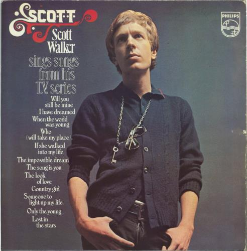 Scott Walker Sings Songs From His T.V. Series vinyl LP album (LP record) UK SWLLPSI92122
