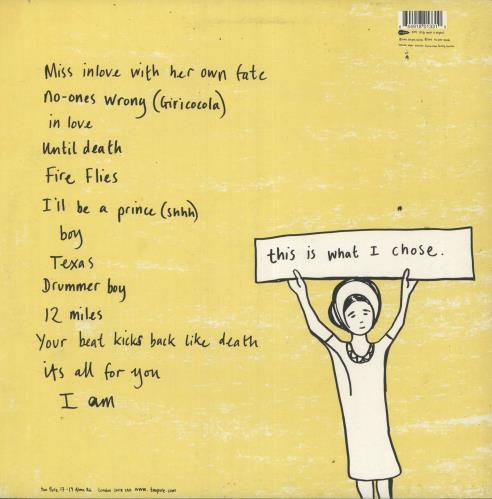 Scout Niblett I Am vinyl LP album (LP record) UK SN1LPIA733905