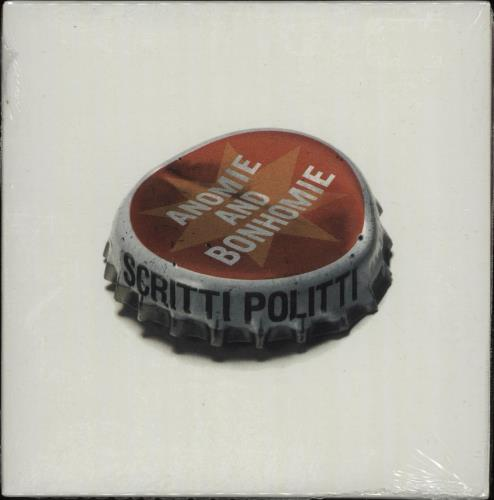 "Scritti Politti Anomie And Bonhomie - 3-track CD single (CD5 / 5"") UK SCRC5AN141634"