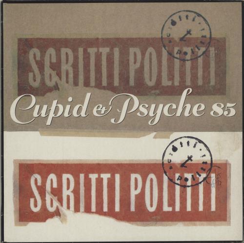 Scritti Politti Cupid & Psyche 85 vinyl LP album (LP record) UK SCRLPCU581346
