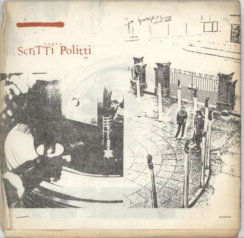 """Scritti Politti Skank Bloc Bologna 7"""" vinyl single (7 inch record) UK SCR07SK265389"""