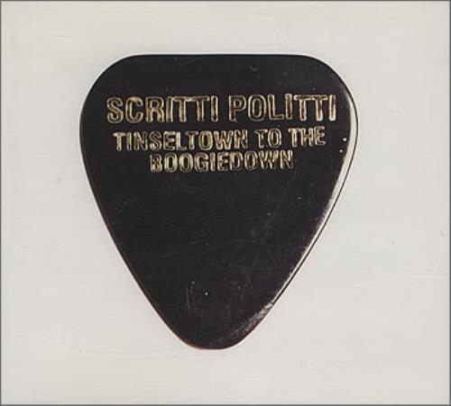 """Scritti Politti Tinseltown To The Boogiedown CD single (CD5 / 5"""") UK SCRC5TI384208"""