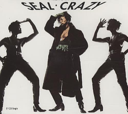 "Seal Crazy CD single (CD5 / 5"") German SEAC5CR171041"
