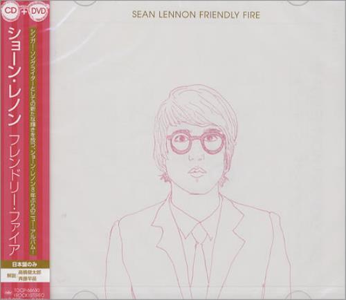 Sean Lennon Friendly Fire 2-disc CD/DVD set Japanese LNN2DFR372237
