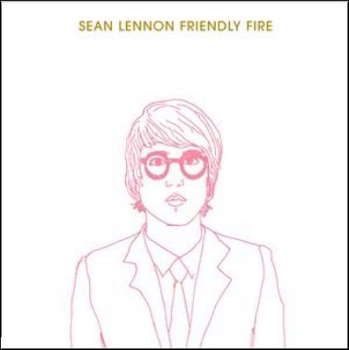 Sean Lennon Friendly Fire 2-disc CD/DVD set UK LNN2DFR374809