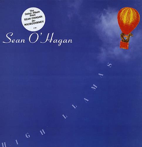 Sean O'Hagan High Llamas vinyl LP album (LP record) UK OHGLPHI349513