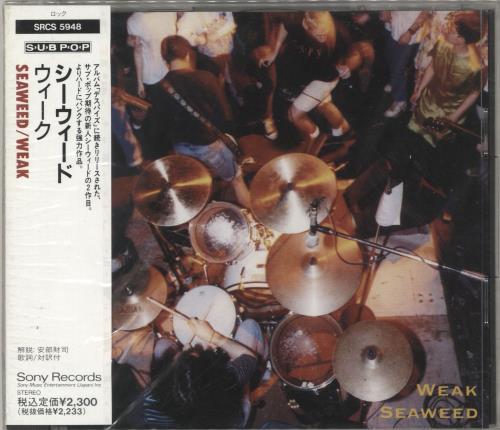 Seaweed Weak CD album (CDLP) Japanese SWDCDWE736647