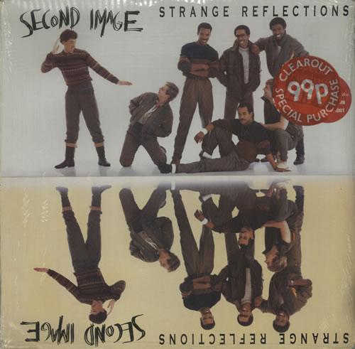 Second Image Strange Reflections vinyl LP album (LP record) UK UECLPST576719