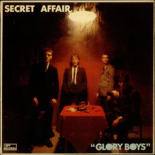 Secret Affair Glory Boys Uk Vinyl Lp Album Lp Record
