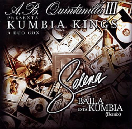 """Selena Baila Esta Kumbia - Remix CD single (CD5 / 5"""") Mexican SLNC5BA330329"""