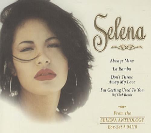 """Selena Selena CD single (CD5 / 5"""") US SLNC5SE203598"""