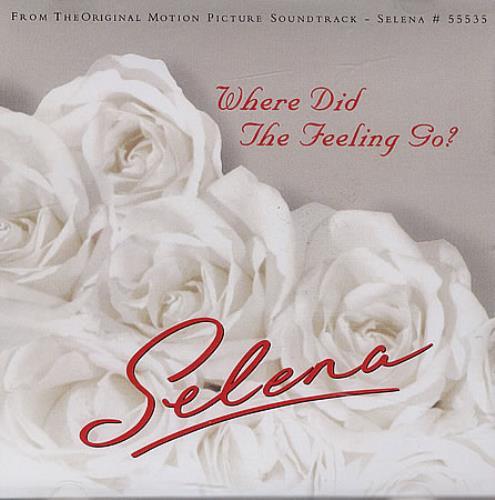 "Selena Where Did The Feeling Go? CD single (CD5 / 5"") US SLNC5WH260994"