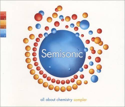 "Semisonic All About Chemistry Sampler CD single (CD5 / 5"") UK ONCC5AL176817"