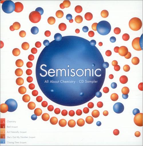 Semisonic All About Chemistry: CD Sampler CD album (CDLP) UK ONCCDAL523107