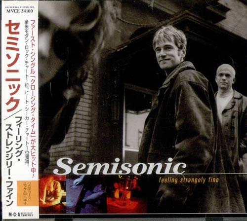 Semisonic Feeling Strangely Fine CD album (CDLP) Japanese ONCCDFE518051