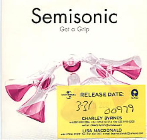 "Semisonic Get A Grip CD single (CD5 / 5"") UK ONCC5GE185608"