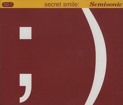 "Semisonic Secret Smile - CD 1 CD single (CD5 / 5"") UK ONCC5SE299153"