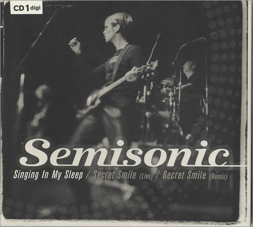 "Semisonic Singing In My Sleep - CD1 CD single (CD5 / 5"") UK ONCC5SI474728"