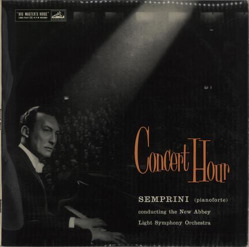 Semprini Concert Hour vinyl LP album (LP record) UK 1N1LPCO660987