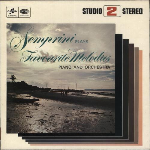 Semprini Favourite Melodies vinyl LP album (LP record) UK 1N1LPFA560850