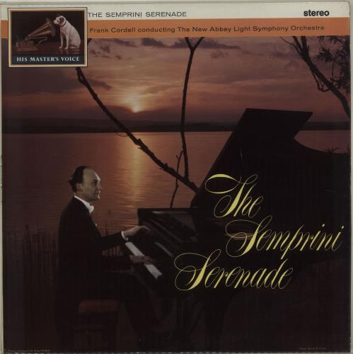 Semprini The Semprini Serenade vinyl LP album (LP record) UK 1N1LPTH680319