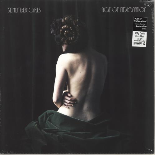 September Girls Age Of Indignation - Sealed vinyl LP album (LP record) UK ZFRLPAG715575